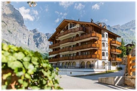 Residenz Edelweiss - Exklusive 2.5-Zimmerwohnung mit grossem Balkon Südwest 3954 Leukerbad