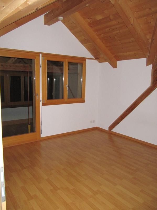 Schöne Wohnung im Dachgeschoss Bauernhaus mit Panoramablick 3