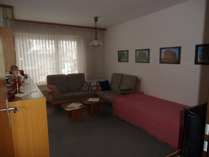 GSTEIN renovierte 2.5-Zimmerwohnung mit Balkon Süd-Ost 3954 Leukerbad