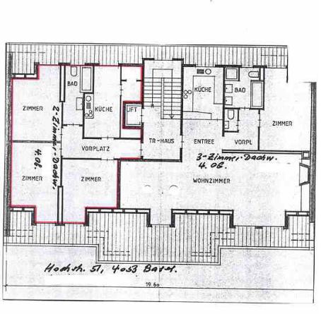 1.5-Zimmerwohnung  an zentraler Lage !!! 2