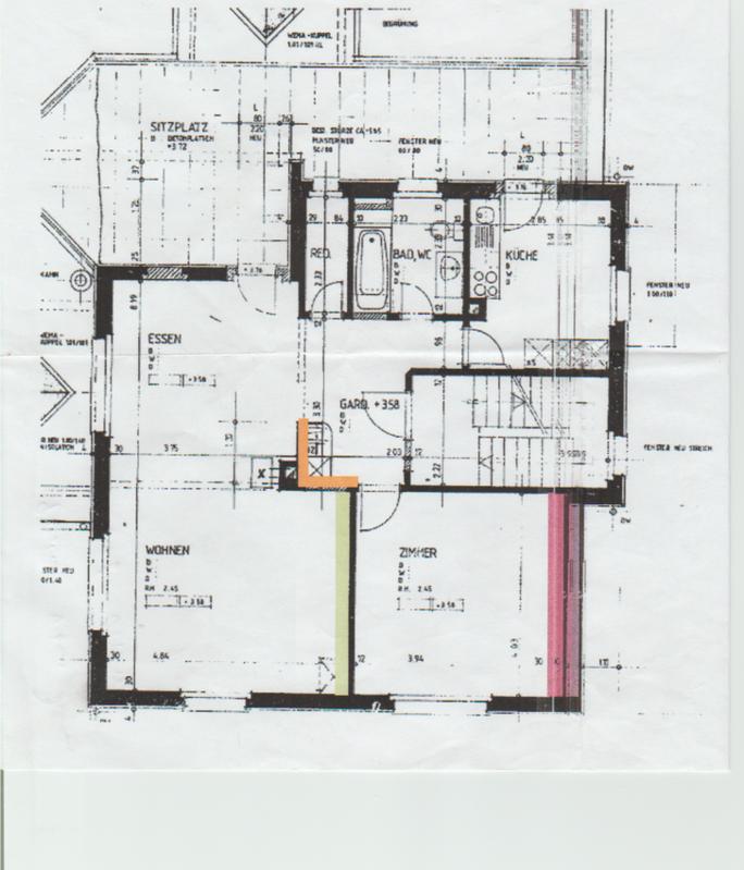 Grosse 2.5 Zimmer Wohnung mit Terrasse und Alpenblick 3400 Burgdorf