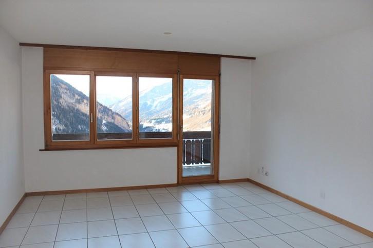 Appartementhaus NEPTUN: helle, unmöblierte 3.5 Zimmerwohnung mit wunderschönem Ausblick 3954 Leukerbad