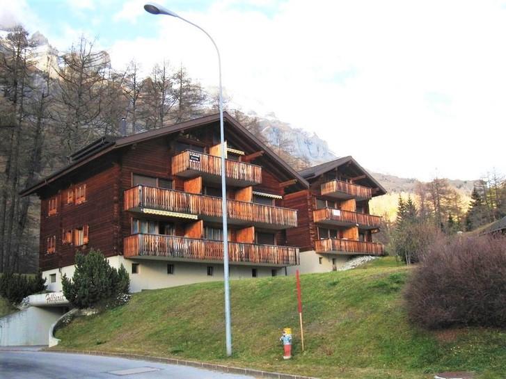 Haus FOLLJERET A Helles, gepflegtes Studio mit schöner Aussicht direkt neben der Skipiste 3954 Leukerbad