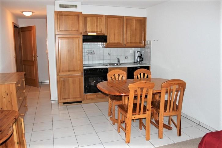 Residenz LES NATURELLES 2.5 Zimmerwohnung im Parterre mit sonniger Terrasse 3954 Leukerbad