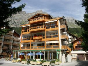 Appartementhaus DIANA helle gemütliche 2.5-Zimmerwohnung mit schöner Aussicht 3954 Leukerbad