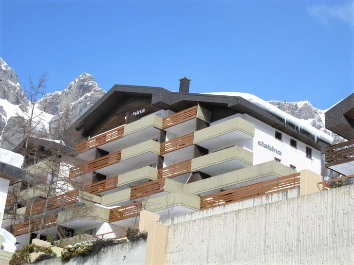 Appartementhaus CLABINA, grosse 3.5-Zimmerwohnung mit Südbalkon und wunderschöner Aussicht 3954 Leukerbad