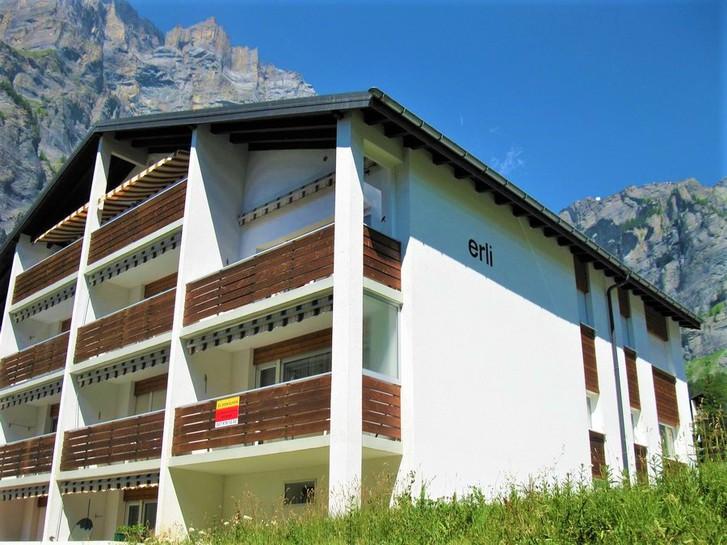 Appartementhaus ERLI, 1.5-Zimmerwohnung in zentraler, ruhiger Lage mit Südbalkon 3954 Leukerbad