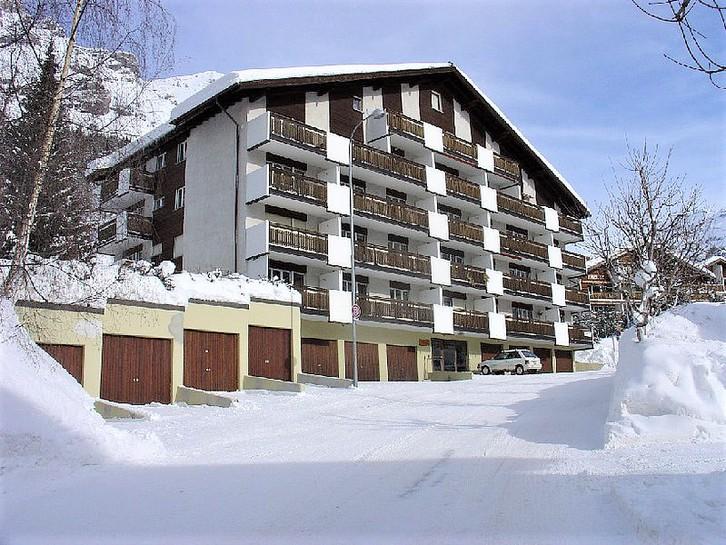 Appartementhaus GOLIATH, helle 1.5-Zimmerwohnung mit schönem Südbalkon 3954 Leukerbad