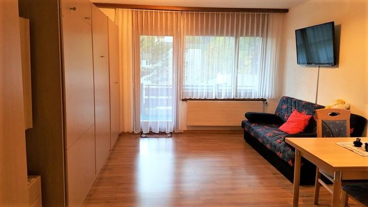 ARCA, gepflegte Studio-Eckwohnung mit sehr schönem Panoramablick 3954 Leukerbad