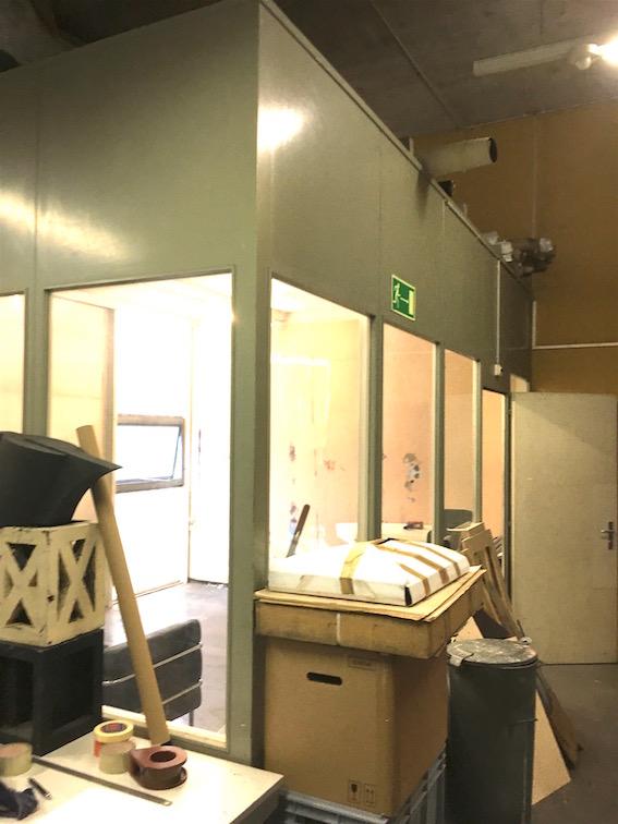 Atelier 20m2 in Werkstattbüro, Fabrikhalle 3