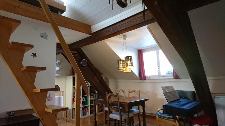 Heimelige 1.5 Maisonette Dachwohnung an zentraler Lage 2