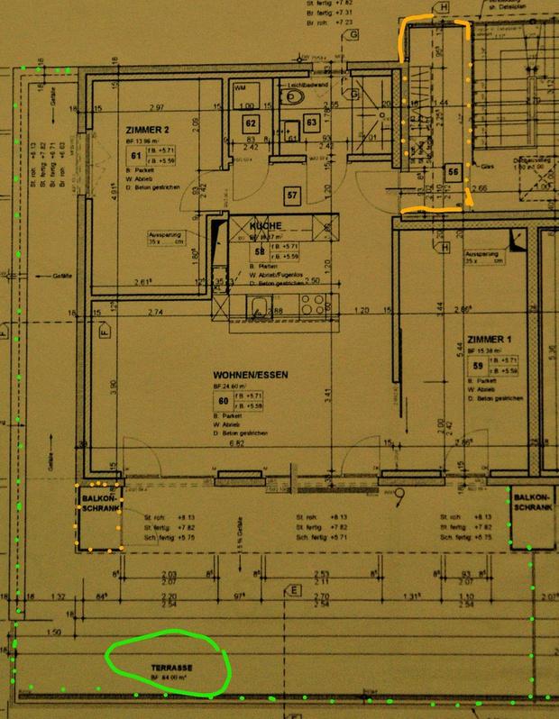 Attika- Wohnung 3315 Bätterkinden