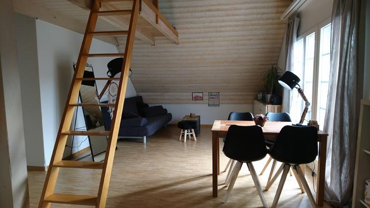 1,5 Zimmer Dachwohnung zum Untermieten Maur