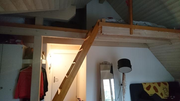 1,5 Zimmer Dachwohnung zum Untermieten 2