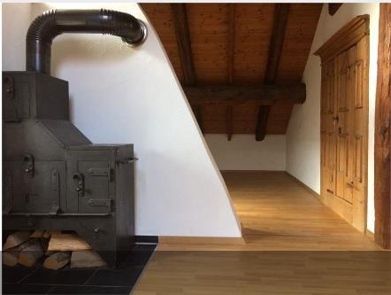 Schöne und helle Dachwohnung mit Schwedenofen 4