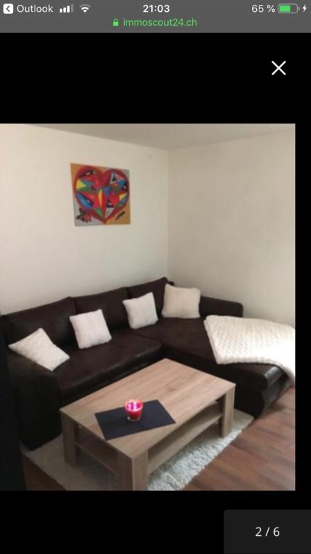 Nachmieter gesucht 1,5 Zimmer Wohnung mit Balkon Küche 4710 Balsthal 4710 Balsthal