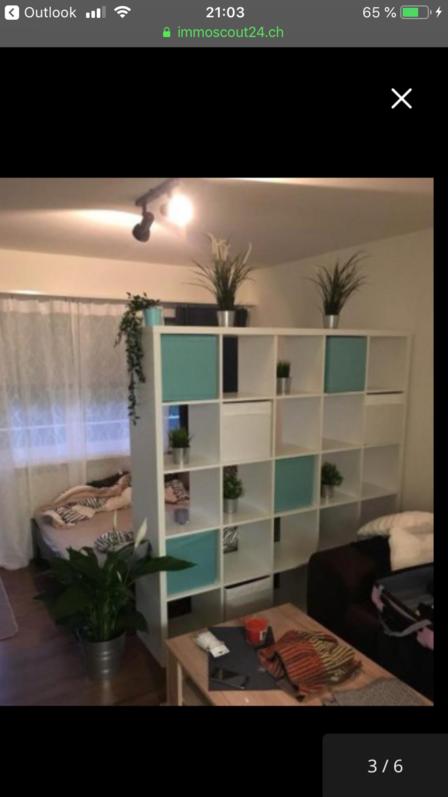 Nachmieter gesucht 1,5 Zimmer Wohnung mit Balkon Küche 4710 Balsthal 2