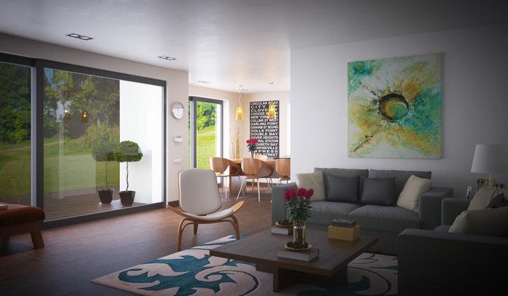 Grosse 4.5 Zimmer 135m2 - Neuwertig - Parterre - privater Garten 3