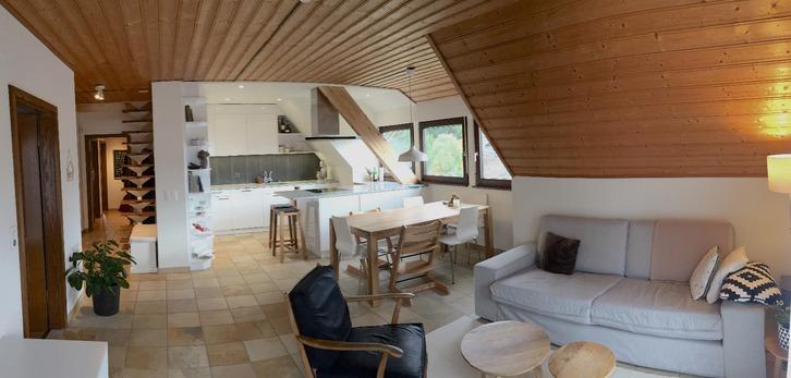 5 Zimmer Dachwohnung in ruhiger Lage 8113 boppelsen