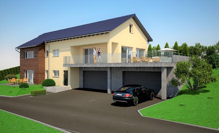 Eigentumswohnung im Zweifamilienhaus 4228 Erschwil