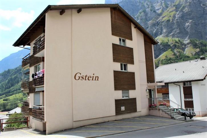 Appartementhaus GSTEIN, gemütliches Studio mit Balkon 3954 Leukerbad