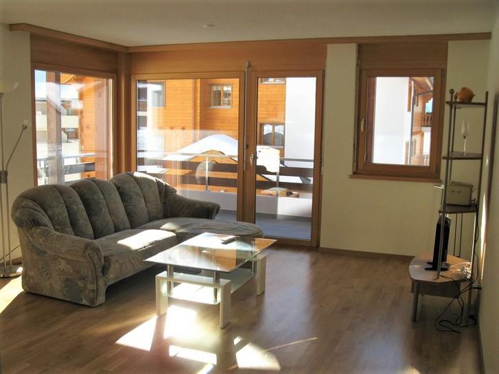Appartementhaus PORTHOS 3.5-Zimmerwohnung, gross, hell, neu, 2 Balkone 3954 Leukerbad