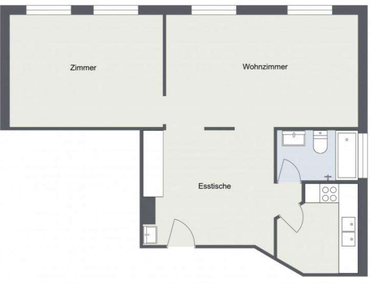 Neu sanierte 2.5-Zimmer- Wohnung !!! 2