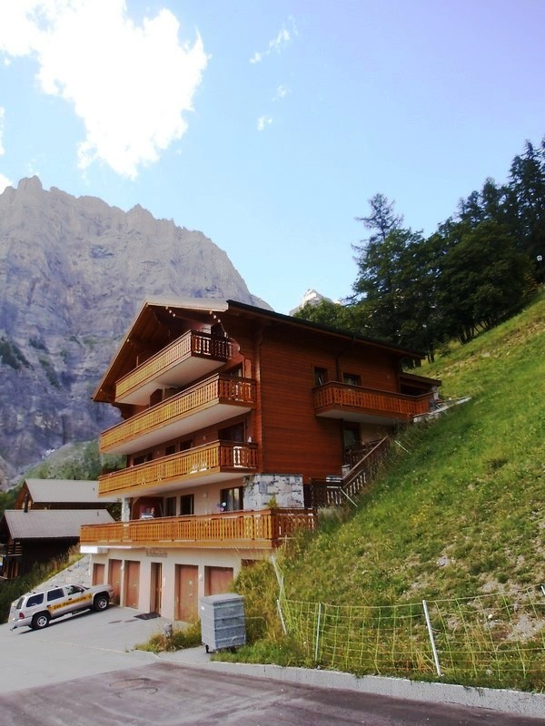 Haus TSCHABUNÄSCHT 4.5-Zimmer-Duplexwohnung mit Balkon Süd und wunderschöner Aussicht 3954 Leukerbad