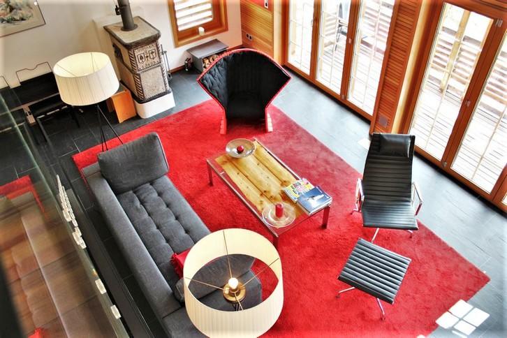 Luxus-Chalet  in Saas-Fee, in bester erhöhter Lage mit wunderschöner Aussicht 2