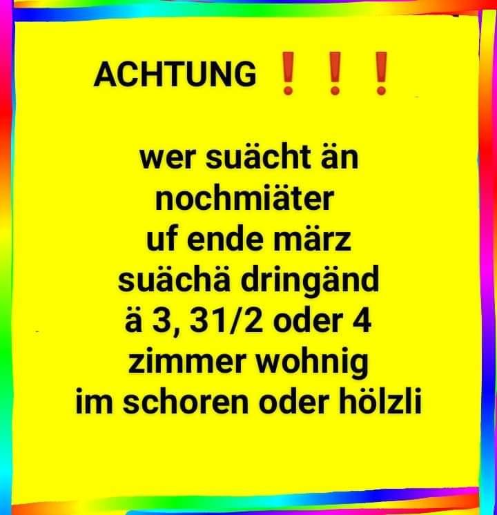 3 - 4 1/2 zimmerwohnung 9000 st. Gallen