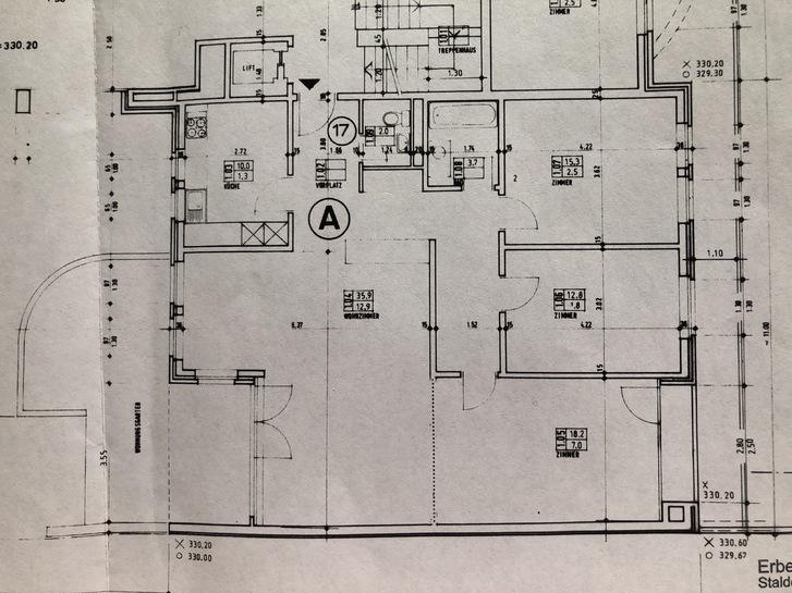 3 1/2  Zimmer Wohnung  115 m2 4144 Arlesheim