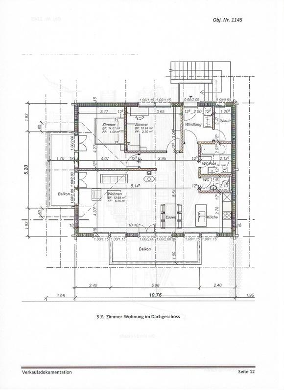 Lenk im Simmental: 3.5-Zimmer-Dachwohnung zu vermieten 4