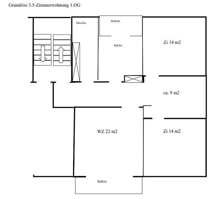 Schöne, lichte, geräumige 3.5-Zimmer-Wohnung in 8132 Hinteregg ZH 8132 Hinteregg