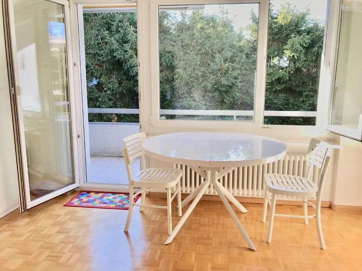 Schöne sonnige grosszügige 3.5 Zimmerwohnung 110 m2 mit gehobenem Standard an ruhiger Lage im Grünen 3