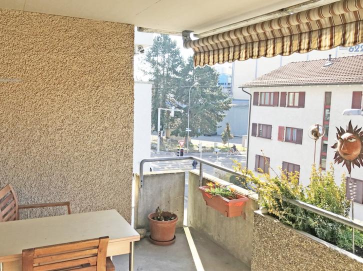 2.5-Zimmerwohnung an sonniger Lage mitten in Zürich-Oerlikon! 2