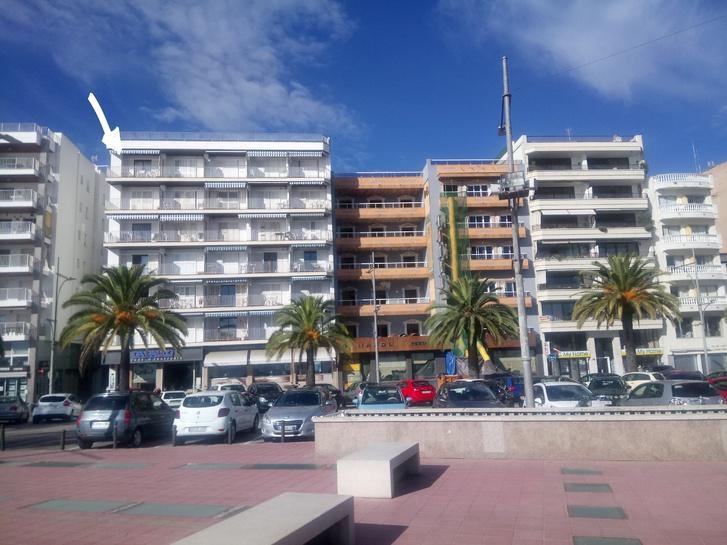 Spanien, Wohnung direkt am Bade- Sandstrand!  17310 Lloret de Mar