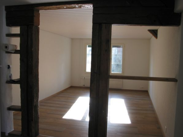 3,5 Zimmerwohnung in Bauernhaus, Thierachern Dorf Thierachern