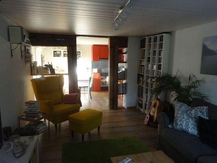 3,5 Zimmerwohnung in Bauernhaus, Thierachern Dorf 4