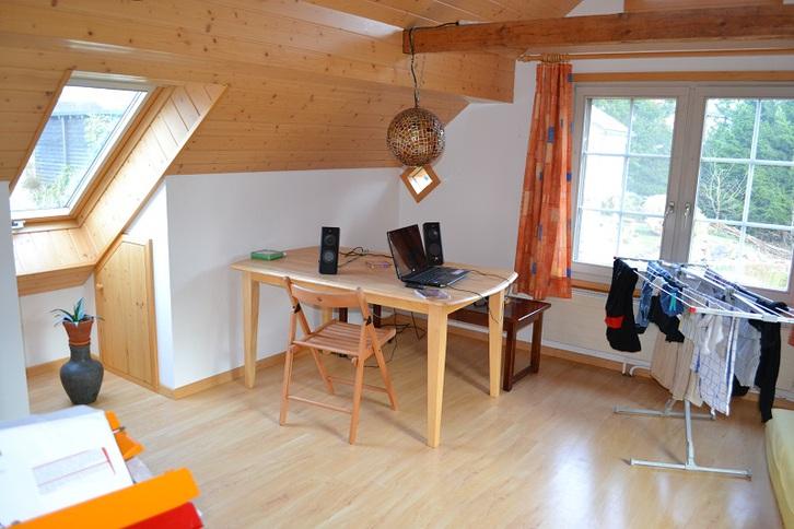 Dachwohnung Altbau  2