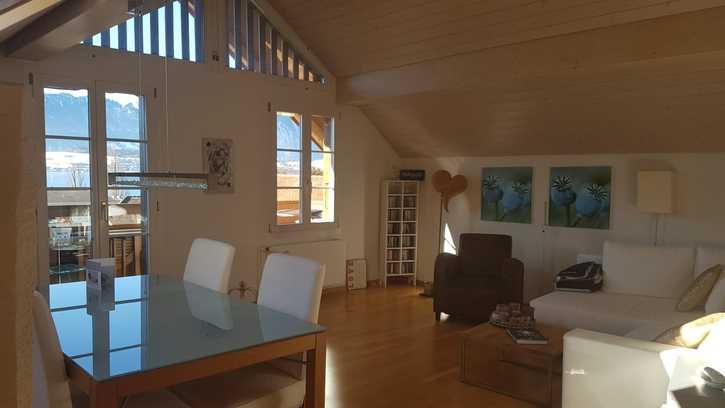 Hübsche, helle 3-Zimmer Altbauwohnung in Oberhofen  2