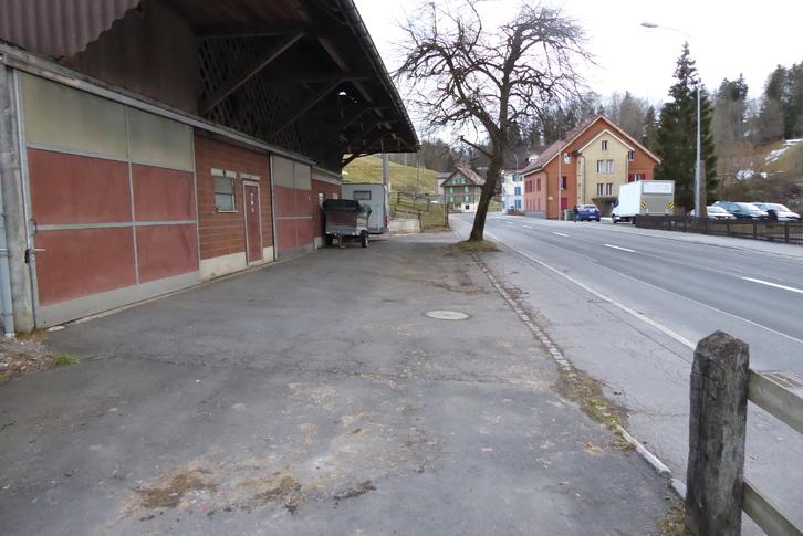 Scheunen-Teil zu vermieten 6314 Neuägeri
