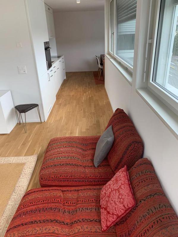 Möbilierte 2.5 Zimmer Wohnung  4