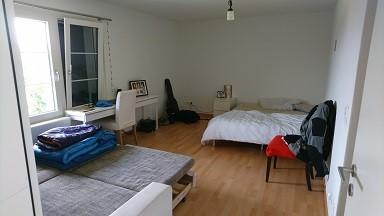 1 WG-Zimmer mit grossem Bad und Balkon 2