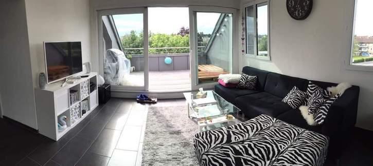 Helle, moderne und gemütliche Dachwohnung mit grosszügiger Terrasse 8306 Brüttisellen