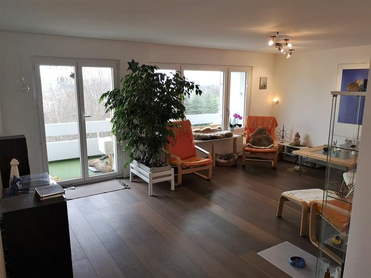 Schöne 4.5 Zimmer Wohnung an super Lage mit Pool und Alpensicht 2