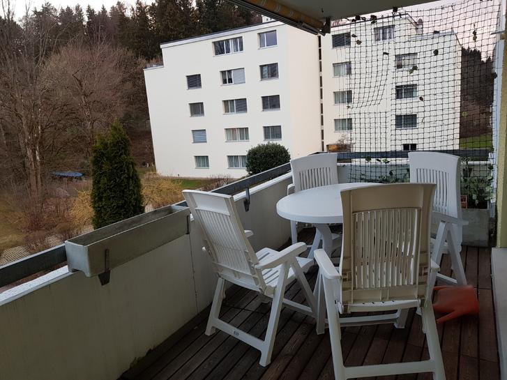 2,5 Zimmerwohnung mit Garagenplatz und Balkon 3