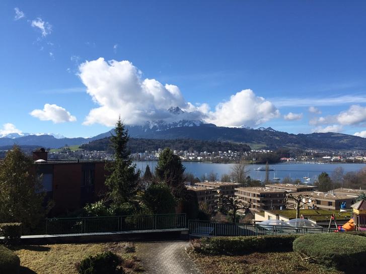 Schöne 3,5 Terrassenwohnung mit atemberaubendem Pilatus- und Seeblick 6006 Luzern