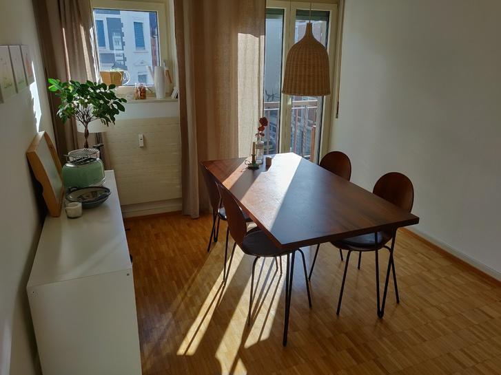 Charmante, helle Wohnung im Kleinbasel mit Balkon 4057 Basel