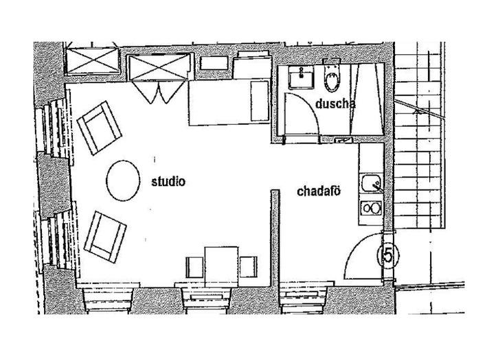 Heimeliges Studio in S-chanf zu vermieten 3