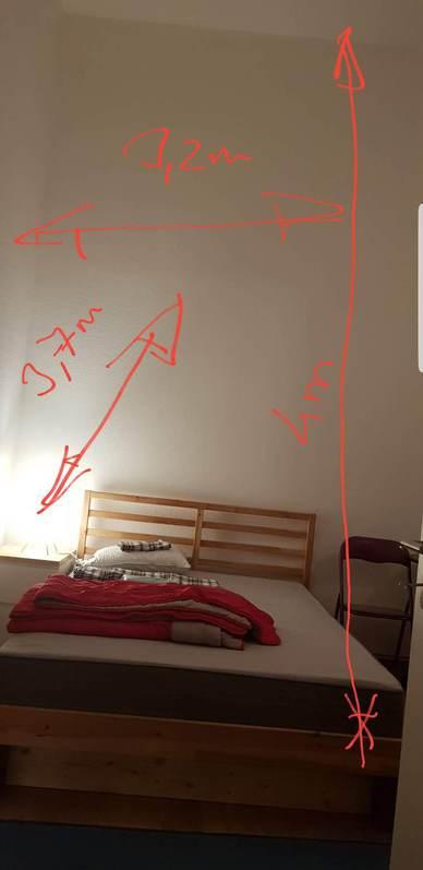 WG Zimmer in hellem Atelier 4